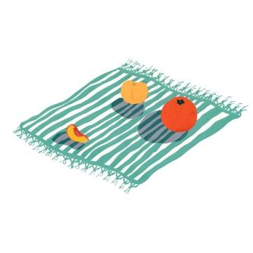 square blanket