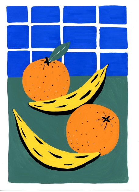 Orange & Banana