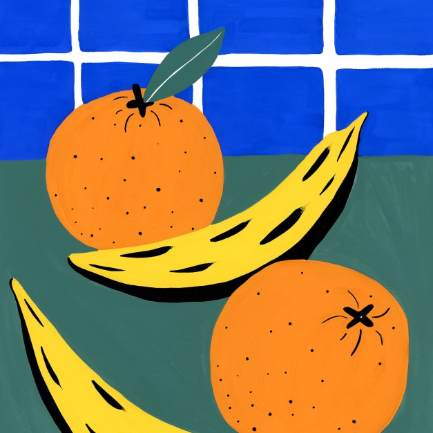 Orange & Banana_square