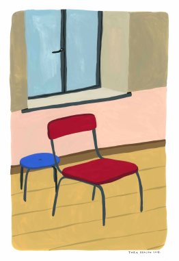 Art school studio_Gouache _web