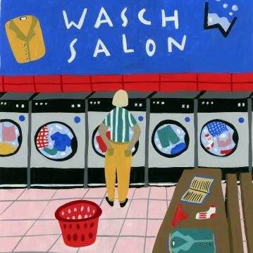 Wasch Salon_square clean line