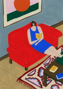Mother on couch_LR